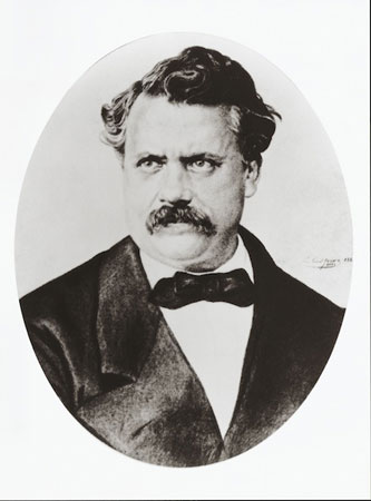 Luis Vuitton, France (1821 - 1892). When he was 14 y.o., He went to Paris on foot, covering 400km