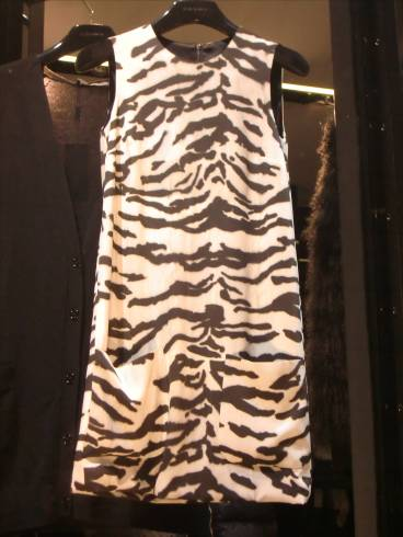 Animalier dress Dolce & Gabbana 2012