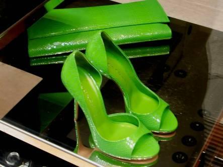 Bright Chartreuse @Casadei