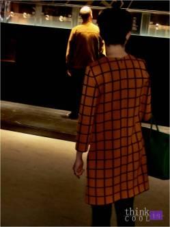 ocher coat