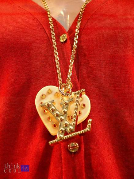 coeur necklace luis vuitton
