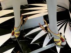 Hot Heels for Prada Cadillac shoes