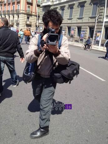street style cameraman
