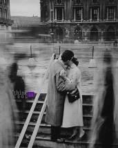 kiss stop - Robert Doisneau