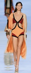 Bianca Balti for ETRO runway S/S 2013