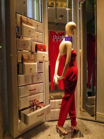 red Valentino suit