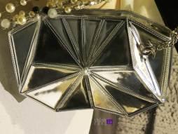 Chanel silver pochette