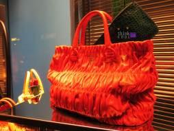Prada red/orange