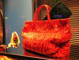 Prada red/orange