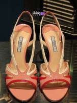Prada sandals rose flame