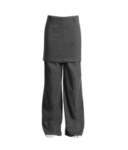 oversize grey tousers 79,95 €
