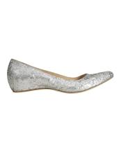 silver ballerinas 99 €